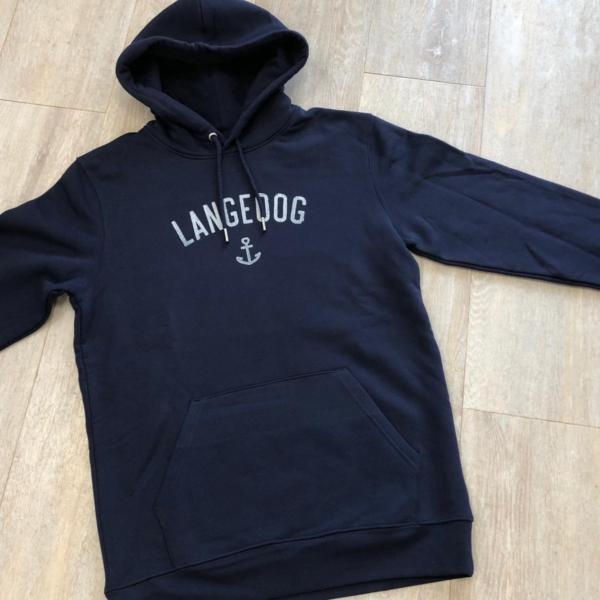Langeoog Hoodie Hjemhavn (Herren) – Logo Strand und Meer